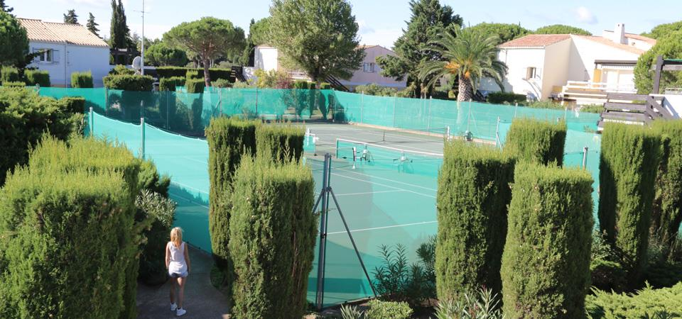 our accomodations in regular vacation rental : residence tennis village: RESID agency, holidays rental Cap d'Agde