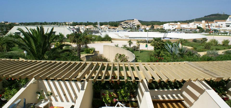 residence Port Ambonne, apartment our accomodations in naturist rental by week : RESID real estate Cap d'Agde