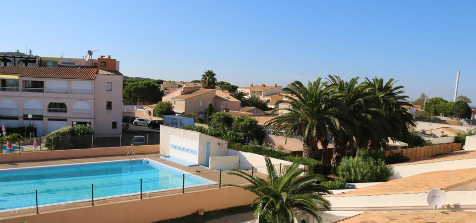 residence port soleil our accomodations in naturist rental by week : RESID real estate agency Cap d'agde