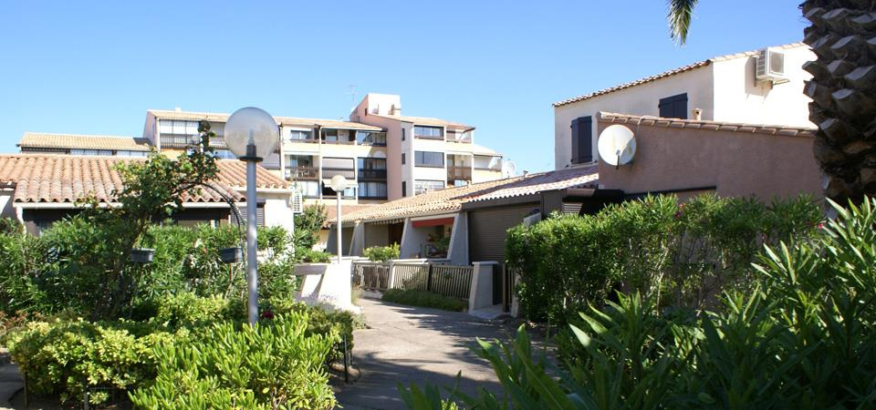 residence port venus village our accomodations in naturist rental by week : real estate Cap d'Agde RESID agency